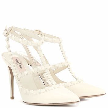 Valentino Garavani Rockstud leather pumps