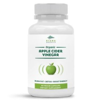 Apple Cider Vinegar Pills - Certified Organic 800mg Pure ACV Capsules For Weight