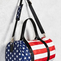 American Flag Travel Duffel Bag