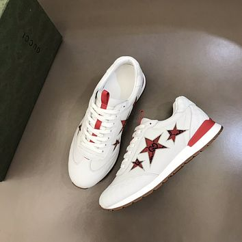 Gucci 2021Men Fashion Boots fashionable Casual leather Breathable Sneakers Running Shoes09170qh