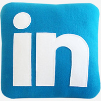LinkedIn Pillow