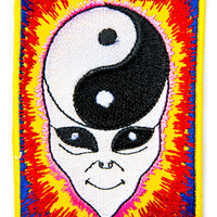 Hollywood Mirror Yin Yang Minded Alien Patch Multi One