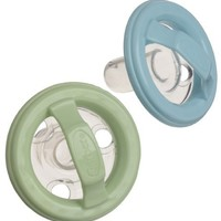Gerber First Essentials 2 Pack Natural Flex Pacifier, Colors May Vary