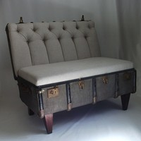 Suitcase Chair - eclectic - chairs - other metro - by REcreate