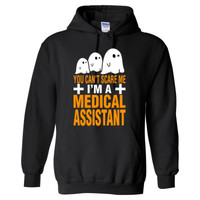 Halloween You Cant Scare Me I Am A Medical Assistant - Heavy Blend™ Hooded Sweatshirt