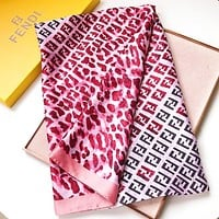 Fendi New fashion more letter print scarf women
