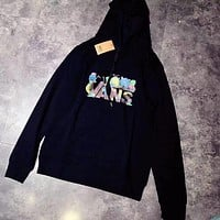 VANS Fashion Hooded Top Pullover Sweater Sweatshirt Hoodie