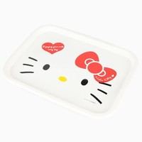 Hello Kitty Microwavable Tray: Red Bow