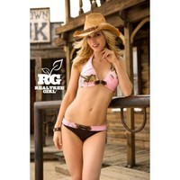Camo Hipster Bottoms   2013 Realtree Camo Swimsuits