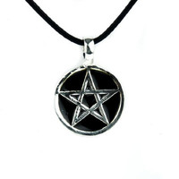Pentacle Necklace Gothic Wicca Witchcraft