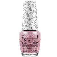 OPI Nail Polish Lacquer - Hello Kitty 2016 Collection, 0.5 Fluid Ounce (NL H81-Charmmy & Sugar)