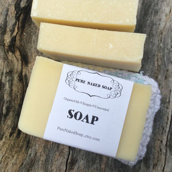 Soap, Pure Naked Soap, artisan soap, handcrafted, cleansing, shower, bath, organic soap, just plain soap, simple, bare, unscented