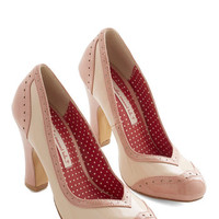 Bait Footwear Vintage Inspired Editor's Choice Heel in Blush