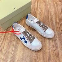 OFF WHITE  Fashion Men Women's Casual Running Sport Shoes Sneakers Slipper Sandals High Heels Shoes