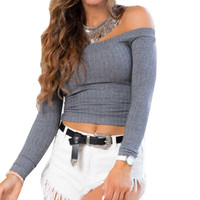 Jess Off the Shoulder Sweater