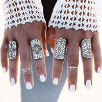 Gypsy Midi Ring Set
