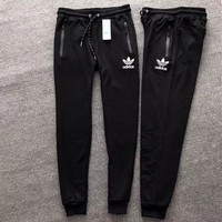 ADIDAS Women Men Lover Casual Pants Trousers Sweatpants