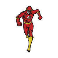 The Flash Running Iron-On Patch