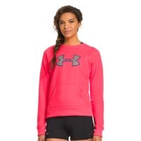 Under Armour Women's UA Big Logo Letterman Crew