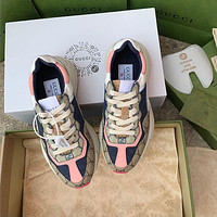 GG family printed daddy shoes sports shoes