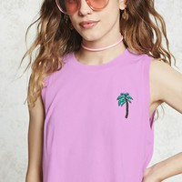 Cropped Palm Tree Tank
