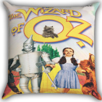 the wizard of oz Warner Bross Zippered Pillows  Covers 16x16, 18x18, 20x20 Inches