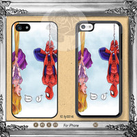 Disney Tangled Spider-man iPhone 5s case, iPhone 5C Case iPhone 5 case, iPhone 4 Case iPhone case Phone case ifg-000146