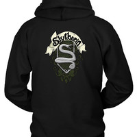 Harry Potter Slytherin Logo Hoodie Two Sided