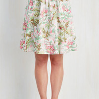 50s Mid-length A-line Plot Twist and Shout Skirt