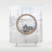 Let It Be Shower Curtain by anipani