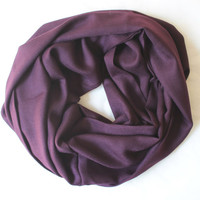 purple pashmina scarf,infinity scarf, scarf, scarves, long scarf, loop scarf, gift