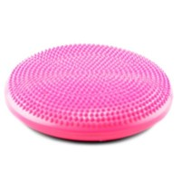"""Wacces Athletic Inflatable Twist Massage Balance Board, 13"""", Pink"""