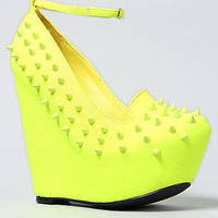 *Sole Boutique The Sakina Shoe in Yellow