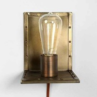 Angled Wall Lamp- Copper One