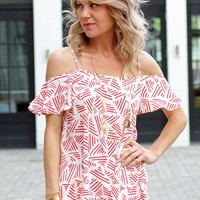 Printed Off The Shoulder Top-Collective Concepts Off The Shoulder Top-$55.00 | Hand In Pocket Boutique
