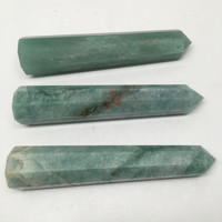 1pc Handmade Green Aventurine Crystal Obelisks Massage Healing @India, SW101