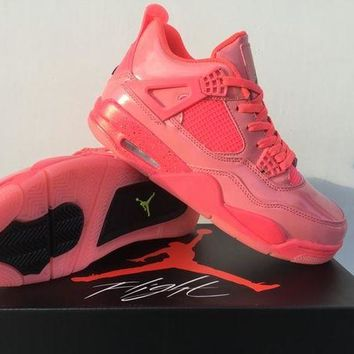 DCCK Air Jordan 4 NRG 'Hot Punch' Sport Shoes