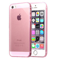 Soft TPU Case for iPhone 5s 5 Ultra Thin Crystal Transparent Silicone Gel Cover