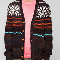 O'Hanlon Mills Campfire Ombre Cardigan - Urban Outfitters