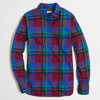 FACTORY PLAID POPOVER IN FLANNEL