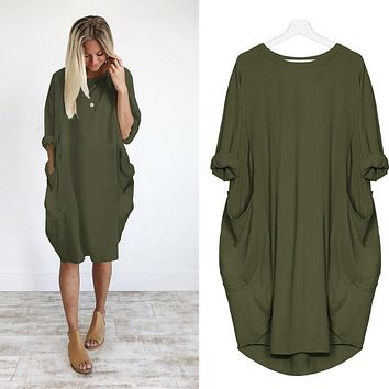 Comfy Pocket Dress