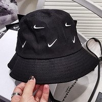 NIKE Summer Fashionable Women Men Sun Hat Baseball Cap Fisherman Hat