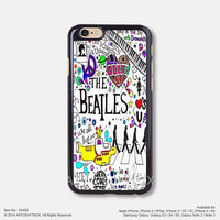 The Beatles Music Poster All you need is Love iPhone 6 6Plus case iPhone 5s case iPhone 5C case iPhone 4 4S case Samsung galaxy Note 2 Note 3 Note 4 S3 S4 S5 case 490