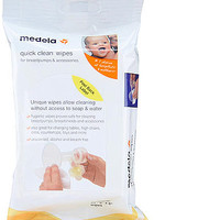 Medela Quick Clean Wipes for Breast Pump & Accessories 24 Pack