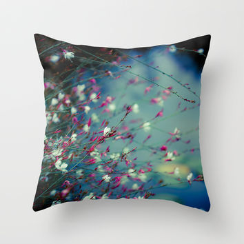 Monet's Dream Throw Pillow by The Dreamery