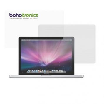 Boho Tronics One 1 Reusable LCD Screen Protector Cover - Compatible With Apple Macbook Air Pro 13.3 Inch - Clear
