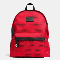 Printed Canvas Campus Backpack