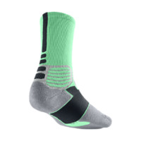 Nike Hyper Elite Crew Basketball Socks - Green Glow