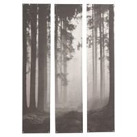 Forest Triptych Mural