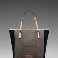 Marc by Marc Jacobs Take Me Quilted Neoprene Tech Me Tote in Gravel Grey from REVOLVEclothing.com